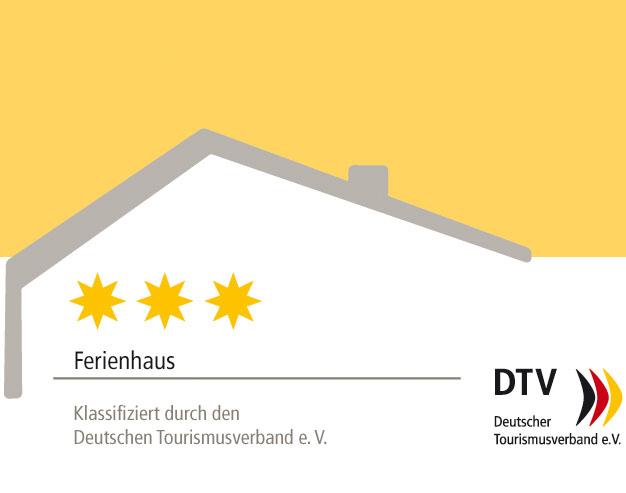 DTV-geprüfte 3-Sterne-Unterkunft