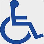 für Rollstuhlfahrer und Menschen mit Gehbehinderungen geeignet